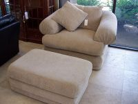 overstuffed chairs and ottomans | Overstuffed chair and ...