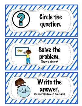 68 Best Images About Story Problems On Pinterest  Grade 2