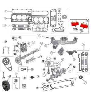 Chrysler v8 52 (318) 59 (360) Engines | 9904 Grand