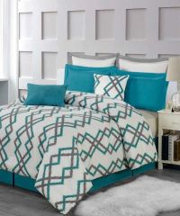 25+ best ideas about Teal and gray bedding on Pinterest ...