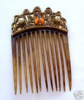 17 best images about antique hair bs on pinterest horns sterling silver and ruby lane