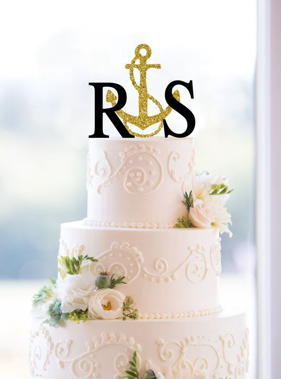 1000 Ideas About Monogram Wedding Cakes On Pinterest