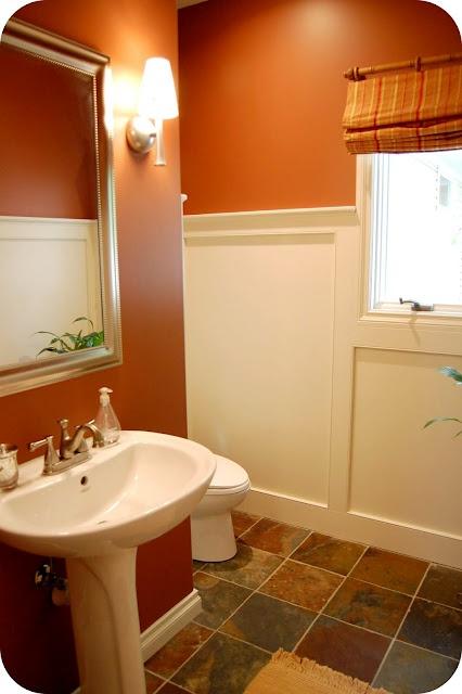 Favorite Paint Colors bathroom Georgian Brick by Benjamin