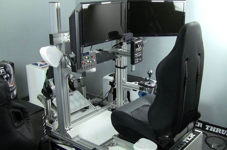 computer chairs for gaming the revolving chair miami jcl to be faster sim racing chassis review - inside | pinterest ...
