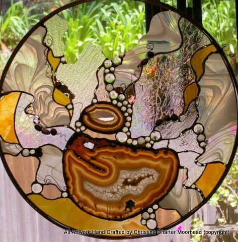 96 Best Images About Stained Glass Geodes On Pinterest Agate Slices Green Agate And Stained
