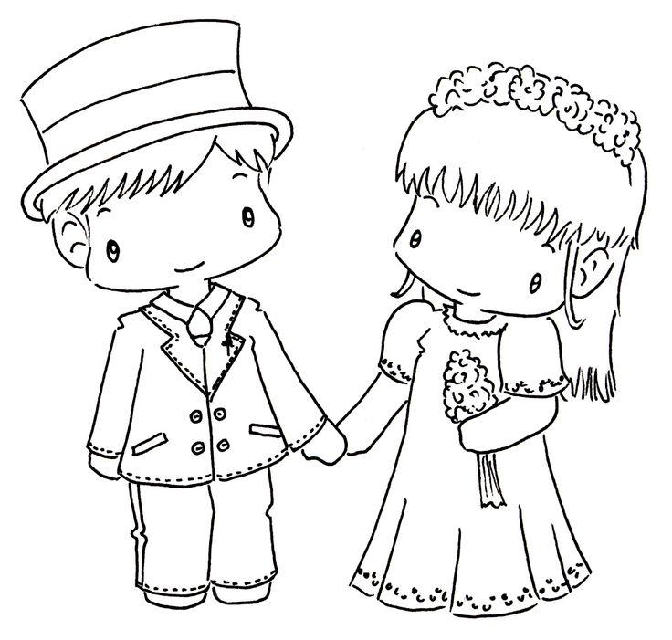 Sliekje Digi Stamps Lovely Couple