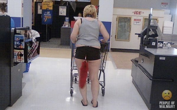 People Of Walmart Guess People Will Do Anything To Get