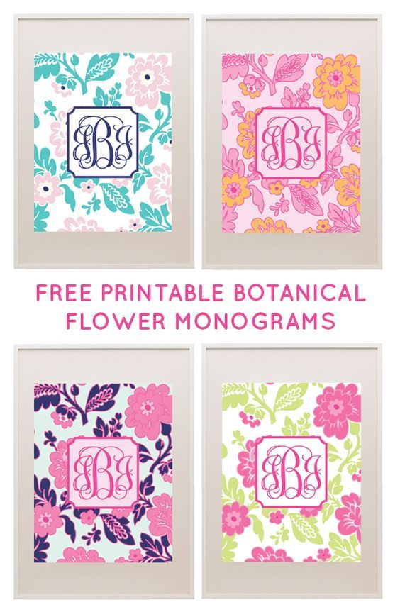 how to make monogram stickers