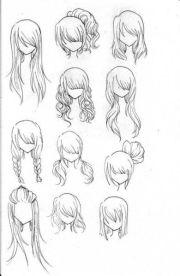 hair ilustration