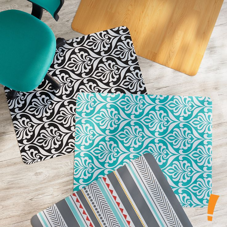 chair mat for hardwood floors fishing second hand 25+ best ideas about office on pinterest | chevron office, mats and work desk decor