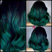 > emerald green