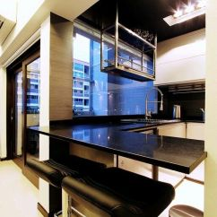 Best Floors For Kitchens Clear Kitchen Canisters Suspended Dish Rack From Ceiling | Pinterest ...