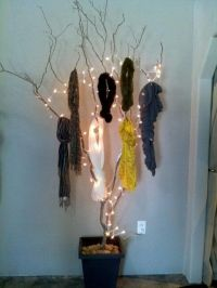 78 Best ideas about Scarf Display on Pinterest | Display ...