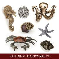 Coastal / Ocean / Beach Themed Cabinet Hardware ...
