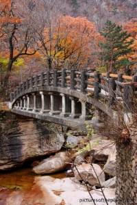 Autumn in Seoraksan National Park, South Korea ...
