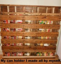 17 Best ideas about Pallet Pantry on Pinterest
