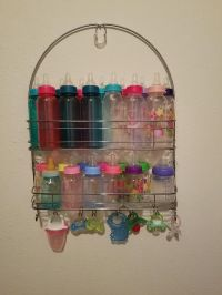 25+ best ideas about Baby bottle storage on Pinterest