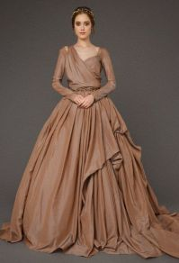 25+ best ideas about Brown wedding dresses on Pinterest