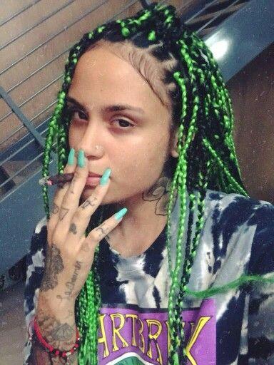 Kehlani  braided and locd  Pinterest