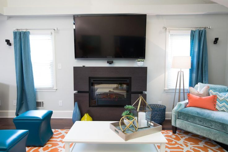 living room wingback chairs lime green dining uk photos   property brothers hgtv fireplace ideas pinterest coats, the brick and mantles