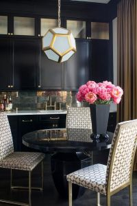 1000+ ideas about Gold Dining Rooms on Pinterest | Black ...