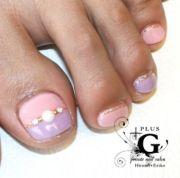 1000 ideas purple toe nails