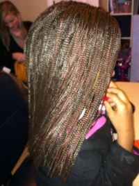 Micro Braid Synthetic Crochet Extensions https://www ...