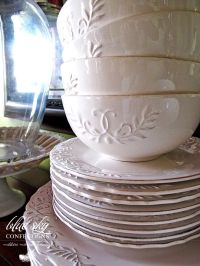 rustic dinnerware sets clearance | Blue Sky Confections ...