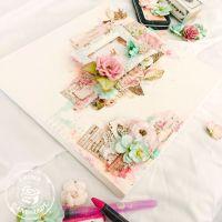 17+ best ideas about Decoupage Canvas on Pinterest ...