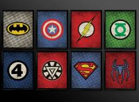 1000+ ideas about Superhero Wall Art on Pinterest ...