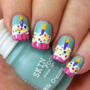 ideas cupcake nail
