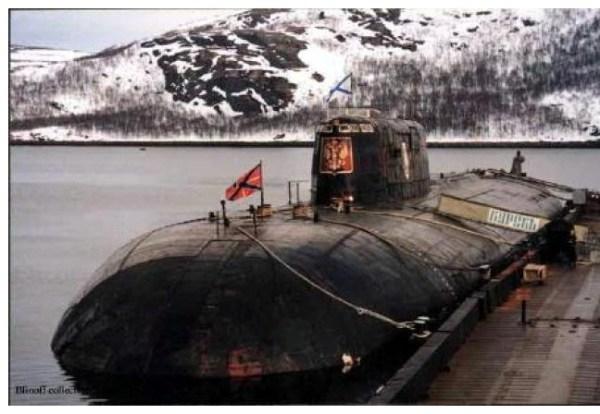 K141 Kursk was an OscarII class nuclearpowered cruise