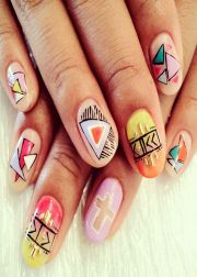 ideas tribal nail