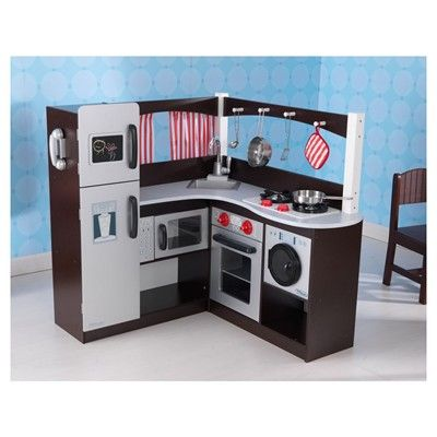 costco kitchen play set placemats big w kidkraft grand espresso corner | day care ...