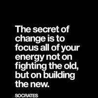 #InspirationalPost Change