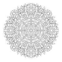 Zen colouring: Mandala | Colouring | Pinterest | Mandalas ...