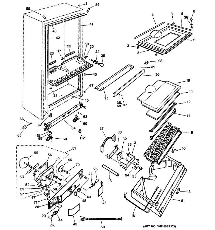 ge refrigerator schematic diagram