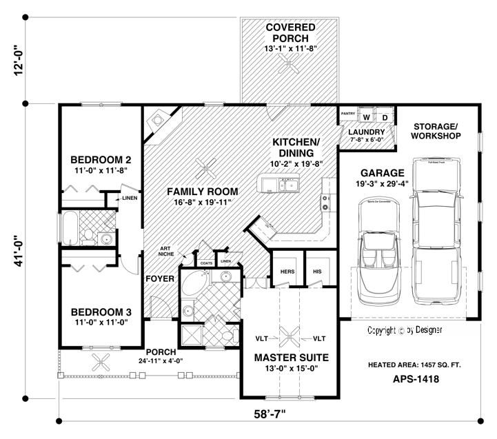 The Westfield House Plan... I could make a few changes