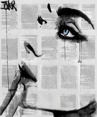 Artist Loui Jover, Never Know