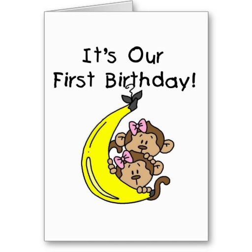 20 Best Images About Birthday Cards For Twins On Pinterest