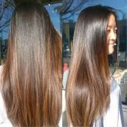 wanted post balayage ombre'