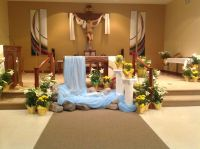 church communion table decoration - Google Search | Church ...