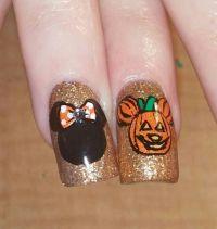 25+ best ideas about Disney Halloween Nails on Pinterest ...
