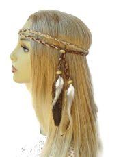 natural woman braided hippie boho