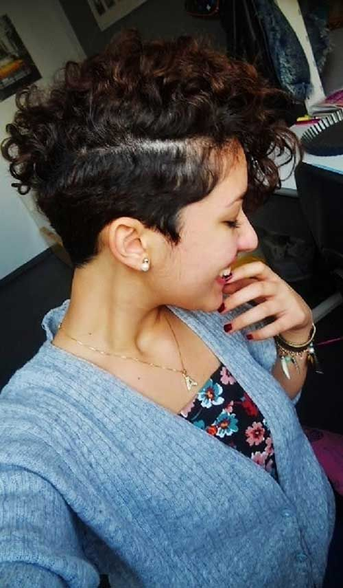 25 Best Ideas About Undercut Curly Hair On Pinterest Shaved