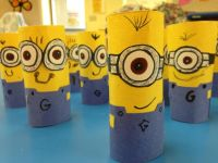 Minion craft for the kiddies! Easy and fun | Art Class ...