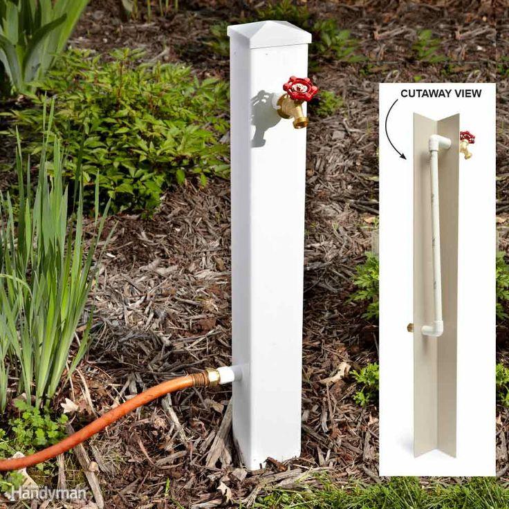 25 Best Ideas About Garden Hose On Pinterest Hose Storage
