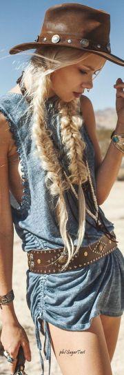ideas western hair