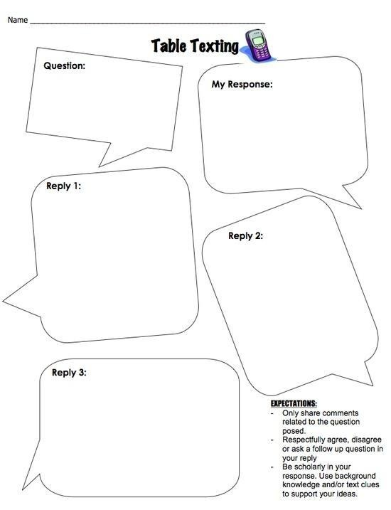 17 Best images about Reading response on Pinterest