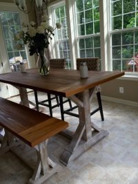 25+ best ideas about Tall Kitchen Table on Pinterest